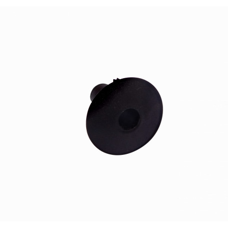 Laucha / Pasamuro Generico PASAMURO-N PASAMURO-N Negro Plastico 9/29mm para pasar cable por muro-24mm