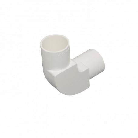 Tubo tipo Conduit LinkChip PVC32-CT PVC32-CT -LINKCHIP 32mm Codo con Tapa para Tubo PVC Blanco