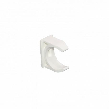 Tubo tipo Conduit LinkChip PVC32-A PVC32-A -LINKCHIP 32mm Soporte Fijacion Abrazadera p/Tubo PVC Blanco Tornillo