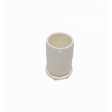 Tubo tipo Conduit LinkChip PVC20-SA PVC20-SA -LINKCHIP 20mm Blanca Salida de Caja PVC para Tubo