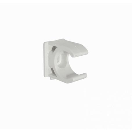 Tubo tipo Conduit LinkChip PVC16-A PVC16-A 16mm Soporte Fijacion Abrazadera p/Tubo PVC Blanco Tornillo