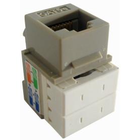 KP5GL - LINKMADE Gris Cat5E U/UTP Punchable Keystone Conector Hembra RJ45