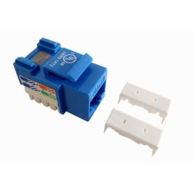 KP5AL - LINKMADE Azul Cat5E U/UTP Punchable Keystone Conector Hembra RJ45