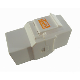 KC6WL -LINKMADE Blanco CAT6 Copla RJ45-RJ45 Keystone Feedthrough