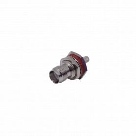 ZH2E -RPTNC-Hembra O-Ring Panel LMR195 CA195 Serie-195 Conector Crimpeable