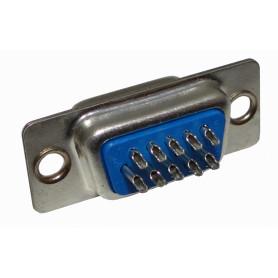 VGA-H -HD15 DB15-VGA HEMBRA 15-PIN Conector Soldable req/DB-CAP DE-15/H 31mm