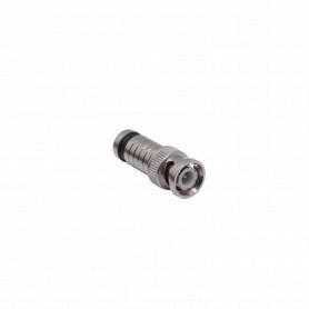 BM-N59 -4-un Compresion BNC-Macho RG59 Conector para Cable RG-59