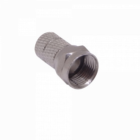 K-0060 -RG6 Atornillable Conector Tipo-F-Macho p/Cable Coaxial RG-6