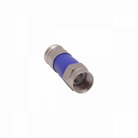 ERG6 -RG6 Empuje Conector F-Macho p/Cable Coaxial RG-6 RG6