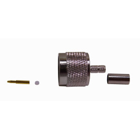 ANM-1700 -LINKMADE LMR195 N-MACHO CONECTOR CRIMPEABLE