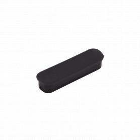 DB25-H-TAPA -Tapa Externa p/Polvo p/Hembra DB25 DB-25 Negra Plastica