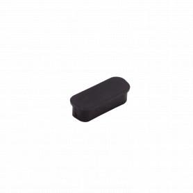 DB15-H-TAPA -Tapa Externa p/Polvo p/Hembra DB15 DA-15 Negra
