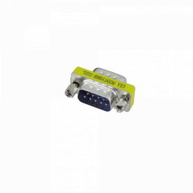 DB9-MM -Conector Serial Macho-Macho DB9 sin-Cable DE-09/MM