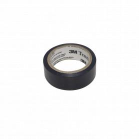 TEMFLEX-1500-05 -3M 5mt Negra Huincha Cinta Aisladora PVC 18mm 0,13mm 600V 80ºC