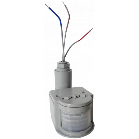 Base Ampolleta / LED Generico LPSENSOR LPSENSOR -Sensor Movimiento Rele 220V 10A para Foco Exterior LP10W