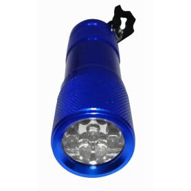 LINTERNA -Linterna 9-LED...