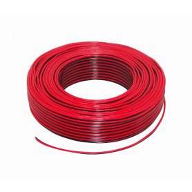 2X18RN -RST 2x18AWG 2x0,75mm2 Rojo-Negro Paralelo 100mts Cable Parlante