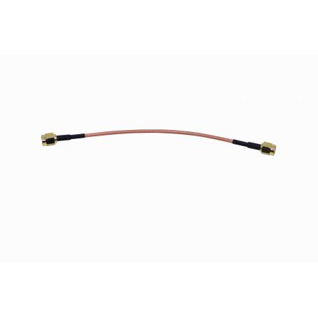 Cable coax armado Generico AM-PIGTAIL-13 AM-PIGTAIL-13 - Cable RG316 13cm RPSMA-M RPSMA-M