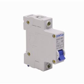 AUTOMATICO-1A -CHINT 1A 6kA 230/400V Interruptor Automatico Termomagnetico C1 DZ47-60