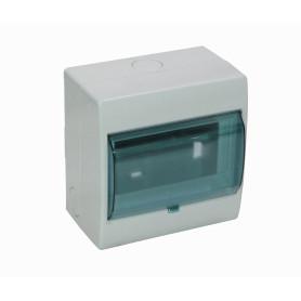 CAJA-DIN5 -KALOP 90mm-Ancho 46mm-Altura Caja Plastica para Automaticos Riel Din