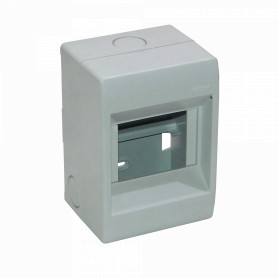 CAJA-DIN4 -KALOP 54mm-Ancho 46mm-Altura Caja Plastica para Automaticos Riel Din
