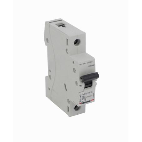 Interruptor Manual / Auto BTICINO AUTOMATICO-16A AUTOMATICO-16A BTICINO 16A 10kA 230/400V Interruptor Automatico Termomagneti...