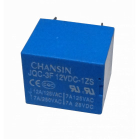 RELE12-3 -3-pin NA/NC 7A-250VAC Rele Solenoide 12VDC Relay