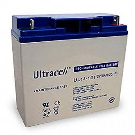 BTA-12-48 - Ultracell Bateria 12v 8Ah ul18-12