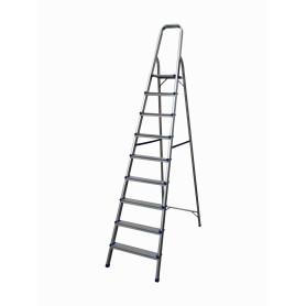 ESCALERA-9 Escalera 9 niveles Aluminio 2,4mt