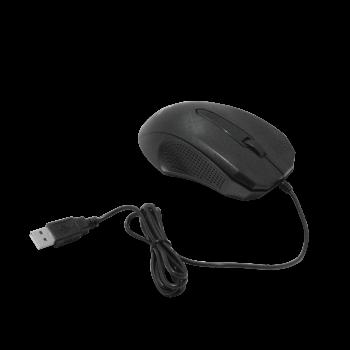 XTECH Mouse USB-AM Cableado-125cm Negro Raton Optico