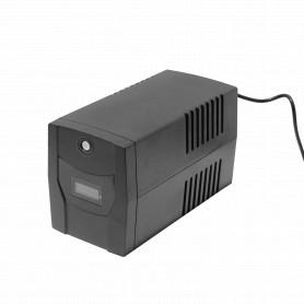 104WH 2x7Ah 1200VA 720W 1-Schuko 2-RJ45 6-C14 AVR USB UPS Interactiva