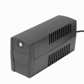 52WH 1x7AH 600VA 360W 1-Schuko 2-RJ45 4-C14 AVR USB UPS Interactiva