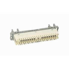Regleta con-Desconexion Telef Blanca 10-Pares KRONE req-Base/DISP-PEG