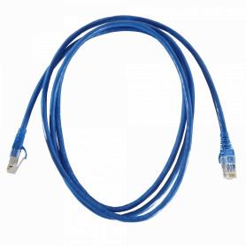 LINKMADE 2,0mt Cat6a U/FTP Azul LSZH Cable Patch Inyectado Multifilar
