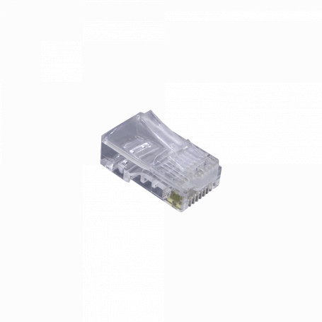 RJ45 Unifilar Generico RJU-BC RJU-BC CAT5e Unifilar RJ45 Bolsa 100 Conectores Crimpeables