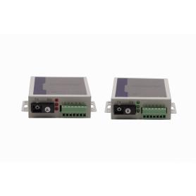 Par-Transciever 1-SC TX/RX SM 20km RS232 RS485 RS422 Fibra Monomodo