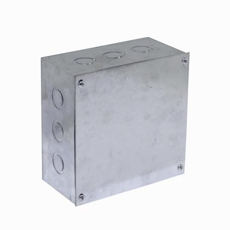 Caja Gabinete Metal Generico FPCWM-5 FPCWM-5 Caja 200x200x100mm c/Tapa-205x205mm Zincada Metalica