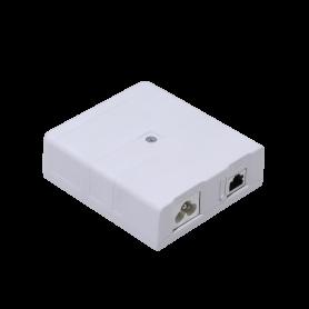 MIKROTIK 600mbps Powerline 1-1000 PoE24V-Out-8W 94x106x32mm PL7510Gi
