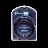 Cable coax armado TP-LINK TL-ANT24EC5S TL-ANT24EC5S - TP-LINK 5MTS RPSMA-H RPSMA-M RG59 2,4GHZ
