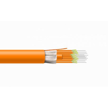 Multimodo Cable Interior Fibra CFMT12 CFMT12 12-Fibras OM1 Cable 12mm Interior 1-mt LSZH Tight Buffer MM 62,5/125um