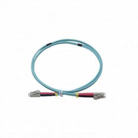 LSZH 1mt LC-LC OM4 MultiModo MM Duplex Jumper Fibra 50/125um 3,0mm