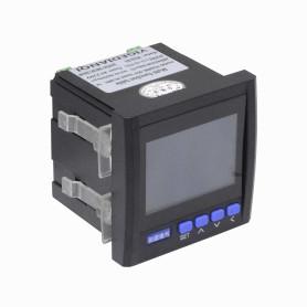 Analizador Trifasico AC Coseno FactorPotencia VA 96x96mm 380V RS485