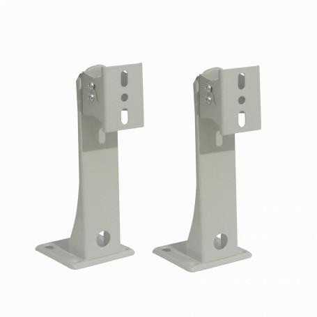 Soporte Metal Separacion Generico BAM-CAM1 BAM-CAM1 2-unids. Soporte 16,5cm p/Muro Exterior Camaras CCTV 165mm