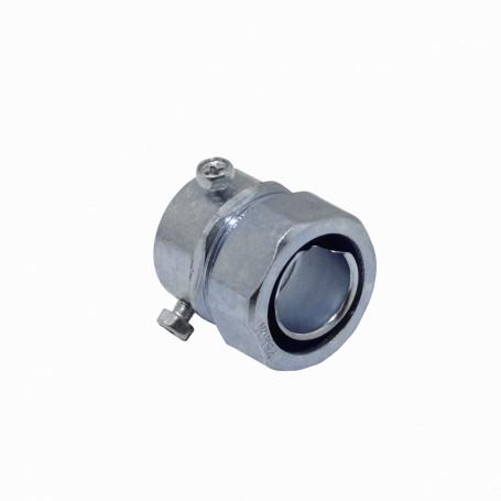 Flexible Metalico LinkChip MEMT25 MEMT25 25mm Union EMT a Flexible Conduit Adaptador Metalico
