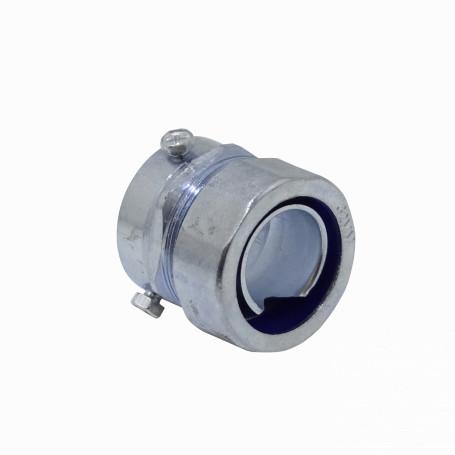 Flexible Metalico LinkChip MEMT32 MEMT32 32mm Union EMT a Flexible Conduit Adaptador Metalico 1-1/4-Pulg
