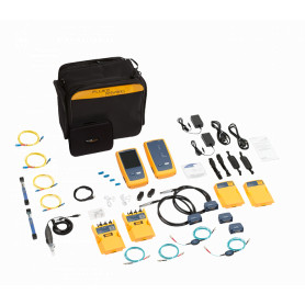 FLUKE Fibra/CU 1GHz 1000MHz Certificadora Cat6A inc/Remotos