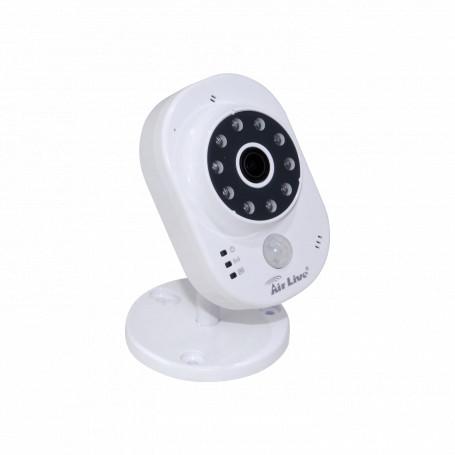 CCTV IP Sobremesa Air Live SC-300W SC-300W AIRLIVE 80º 3,6mm 3MP IR-15m WiFi 1-100 Mic-Parl mSD CamaraIP PIR Temp