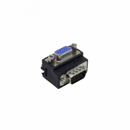 DVI/VGA/RG59/ F/BNC/HDMI Generico VGA-LU VGA-LU Conector Angular VGA Macho-Hembra sin-Cable HDB15/HM Vertical-A