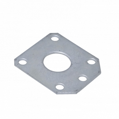 Mastil/accesorios Generico MAST-GP32 MAST-GP32 p/32mm Placa Repuesto para Mastil Guy Plate