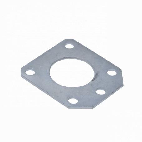 Mastil/accesorios Linkmade MAST-GP45 MAST-GP45 LINKMADE p/45mm Placa Repuesto para Mastil Guy Plate